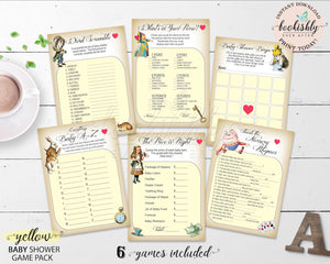 Alice in Wonderland Printables Bookishly Ever After