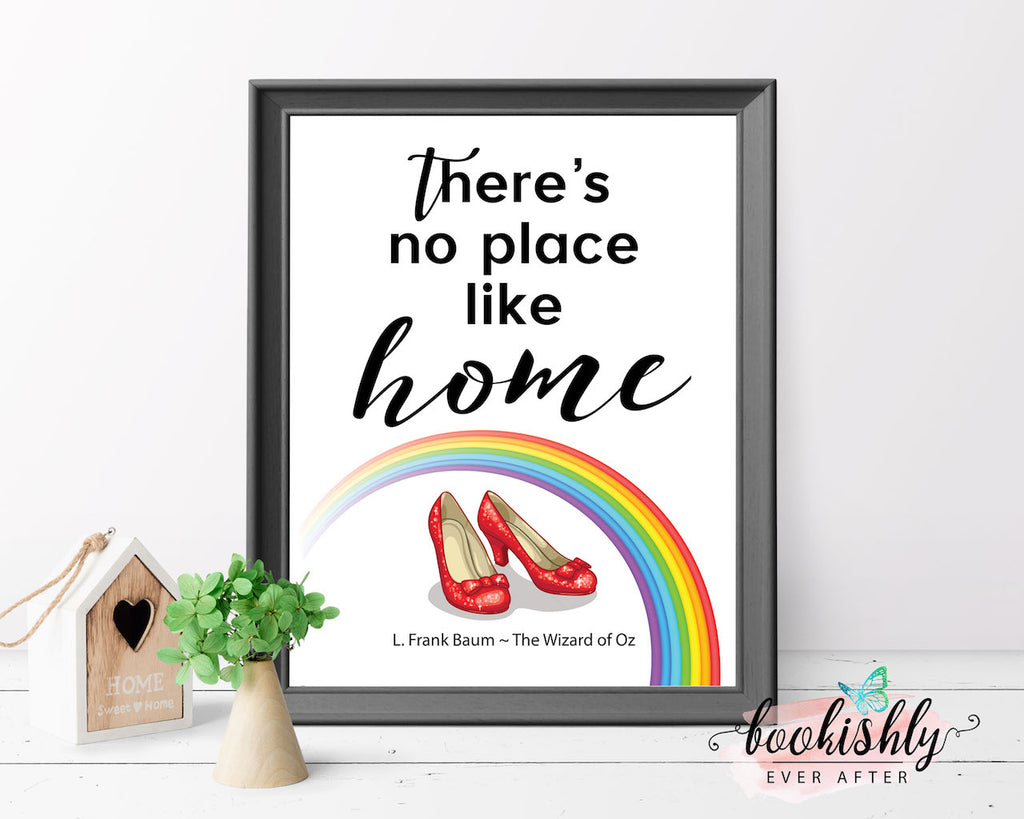 The Wizard Of Oz There S No Place Like Home Quote