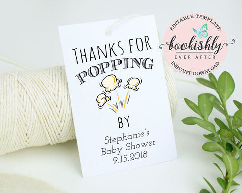 graphic regarding Thanks for Popping by Printable named Printable Prefer Tags Bookishly At any time Just after
