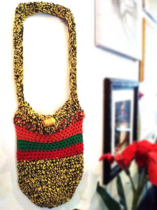 Cotton Yarn Crochet Bag (multi color)