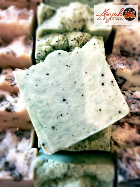 Peppermint & Sea Moss Olive Oil Soap