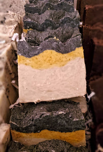 Triple Threat: Activated Charcoal, Turmeric & Bentonite Clay Bar