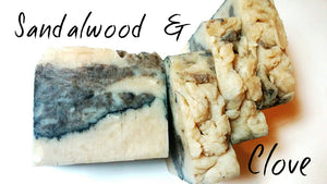 Shea Butter Soap- Sandalwood & Clove