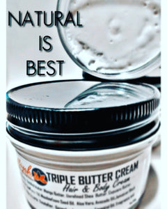 Triple Butter Cream- Hair & Body Cream