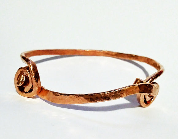 Latch & Clasp Copper Bracelet