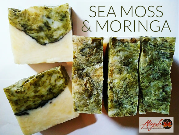 Sea Moss & Moringa Bar