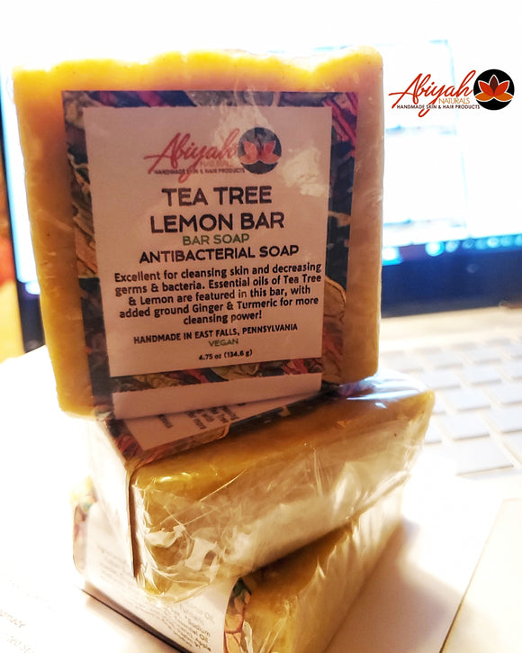 Tea Tree Lemon Bar