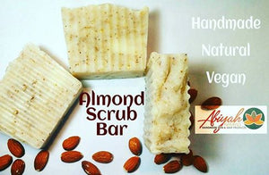 Almond Scrub Bar