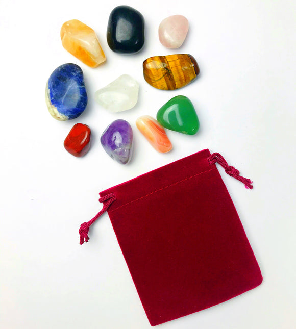 Crystal Power Pouch