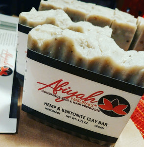 Hemp & Bentonite Clay Bar