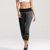 Vesta capri leggings in black and grey with white detail by BODYLAP UK