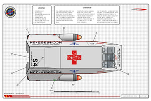 Type M Medivac Shuttle, Robert Jarvik class: General Plans