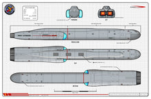 Battlecruiser, U.S.S. Hood NCC-1703, Hood class starship: General Plans