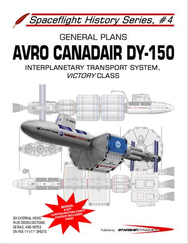 Avro/Canadair DY-150 Interplanetary Freighter, Victory class, General Plans