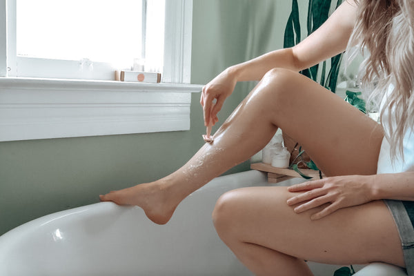 Shaving Your Legs with a Safety Razor
