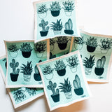 Liquidation - Swedish Dishcloth: Cacti