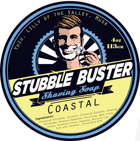 Coastal by Stubble Buster - Handmade Shaving Soap