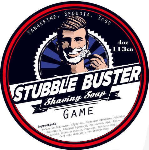 Game by Stubble Buster - Handmade Shaving Soap