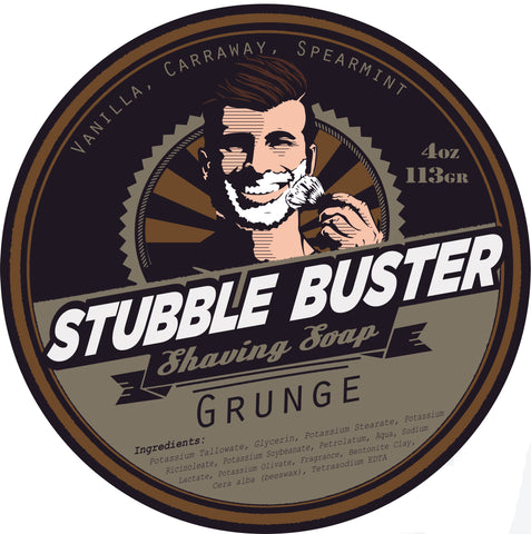 Grunge by Stubble Buster - Handmade Shaving Soap