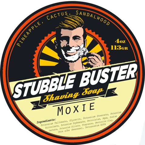 Moxie by Stubble Buster - Handmade Shaving Soap