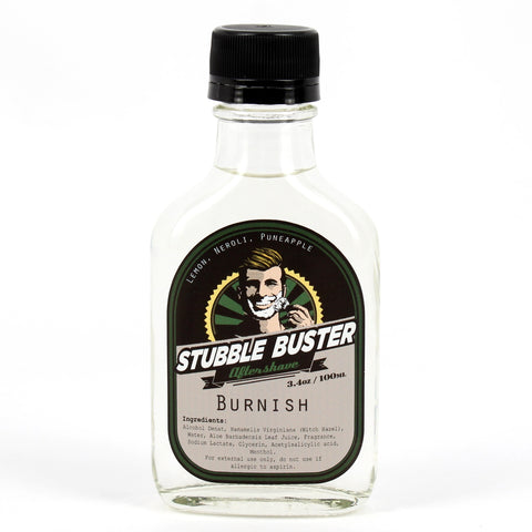 Burnish by Stubble Buster - Handmade Aftershave Splash