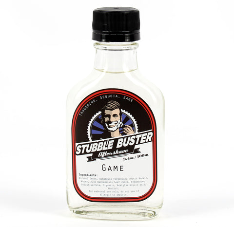 Game by Stubble Buster - Handmade Aftershave Splash