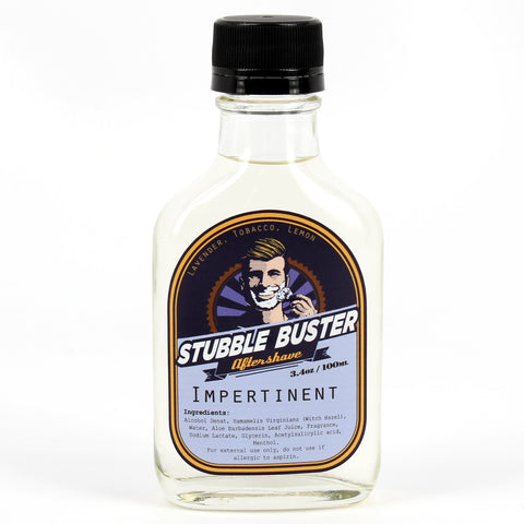 Impertinent by Stubble Buster - Handmade Aftershave Splash