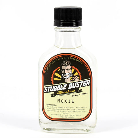 Moxie by Stubble Buster - Handmade Aftershave Splash