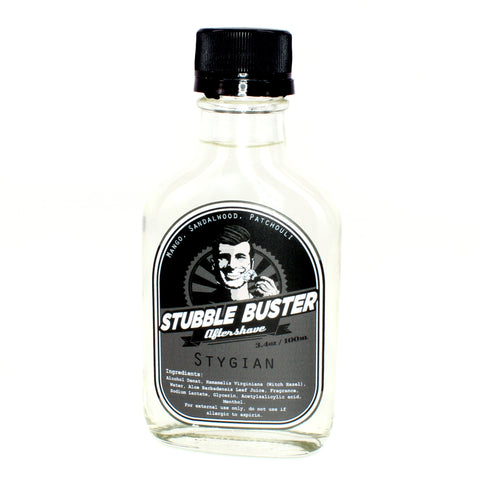 Stygian by Stubble Buster - Handmade Aftershave Splash