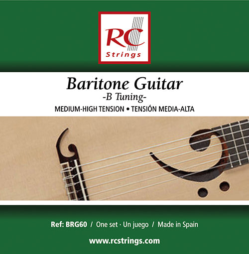 Royal Classics BRG60 Baritone Guitar Normal Tension - Ronda Guitar House