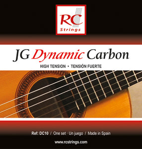Royal Classics DC10 JG Dynamic Carbon High Tension - Ronda Guitar House
