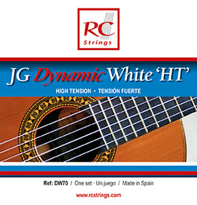 Royal Classics DW70 JG Dynamic White HT High Tension - Ronda Guitar House