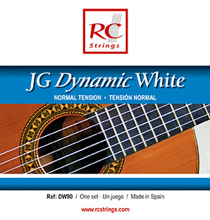 Royal Classics DW90 JG Dynamic White Normal Tension - Ronda Guitar House
