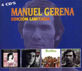 Edición Limitada by Manuel Gerena (4 CD's)