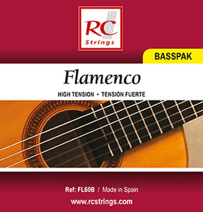 Royal Classics FL60B Flamenco Basspak. Semi High Tension - Ronda Guitar House