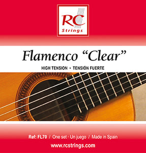 Royal Classics FL70 Flamenco Clear High Tension - Ronda Guitar House