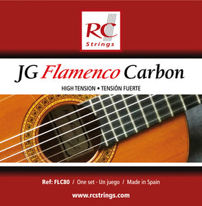 Royal Classics FLC80 JG Flamenco Carbon High Tension - Ronda Guitar House