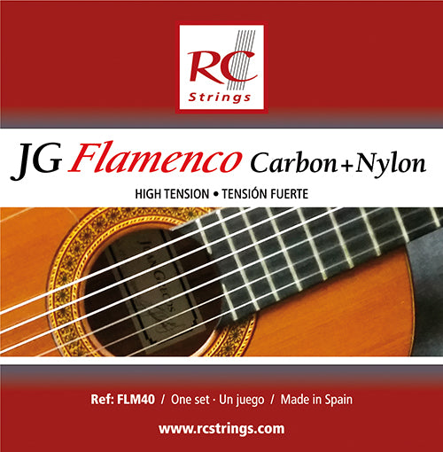 Royal Classics FLM40 JG Flamenco Carbon and Nylon High Tension - Ronda Guitar House