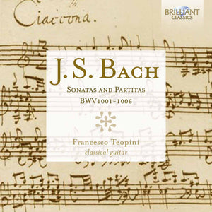 J.S Bach Sonatas and Partitas BWV 1001-1006 by Francesco Teopini