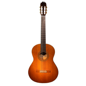 Jose Antonio Lagunar Black Flamenco Guitar - Ronda Guitar House