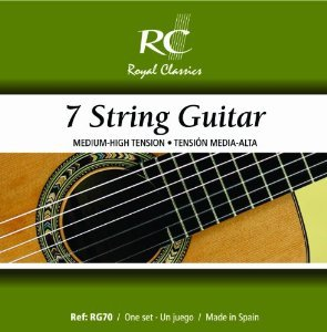 Royal Classics RG70 7 String Guitar Normal Tension - Ronda Guitar House