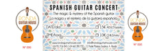 Evening Spanish Guitar Concerts @ 19:00