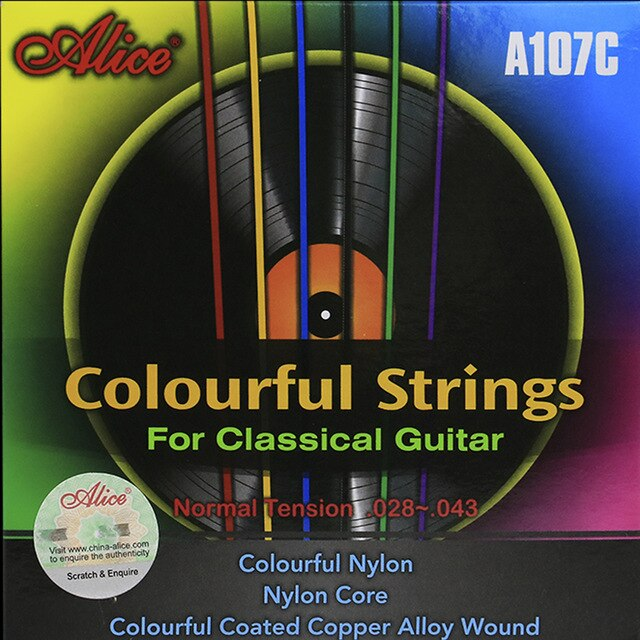 ALICE Colourful Strings