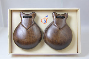 JALE Castanets Wood