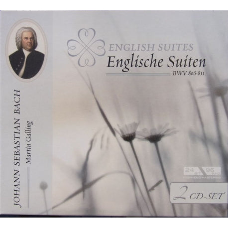 MARTIN GALLING Bach English Suites