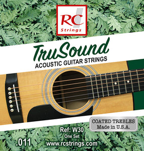 TruSound Acoustic guitar strings RC STRINGS