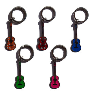 Keyring metal guitar