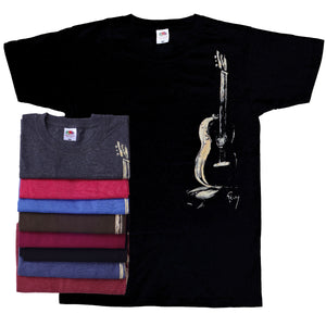 T-shirt Male Guitar (Brown)