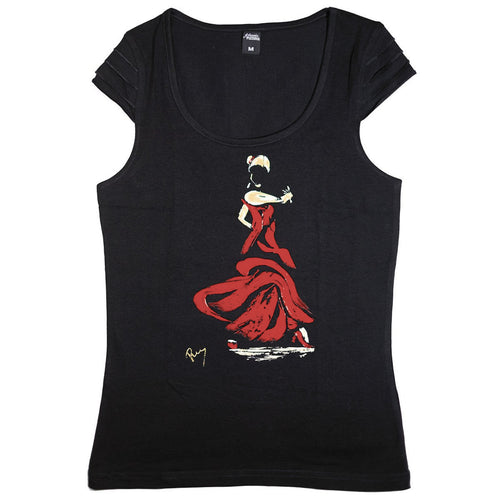 T-shirt Diana Flamenco