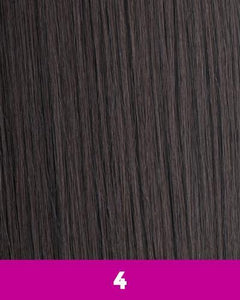 360 WEFT - Brazilian Knot Weft Kinky Straight 100% Human Hair Remi 18 Inch 11 Wefts BKWHKS18(11) 4 / 11 360 WEFT Weaves